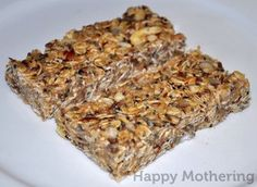 I have been want to make a seed granola bar. I'll have to change out the almond butter for sunflower butter. hemp chia granola bars