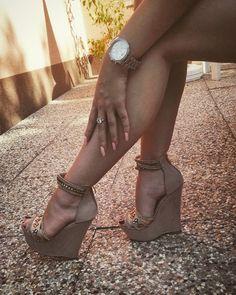 #shoes #michaelkors #watch #nudenails #nails
