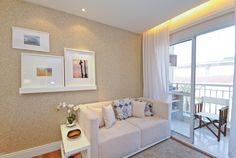 Sala empreendimento Way Penha - 2 dormitórios / Way Penha Living Room - 2 bedrooms