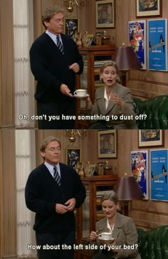 the nanny lol the best show ever!
