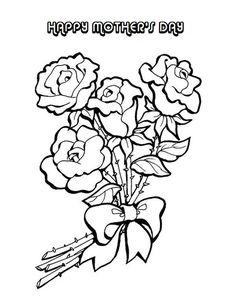 coloring pages of flowers for mom | I Love You Mom Coloring Pages - AZ Coloring Pages ...