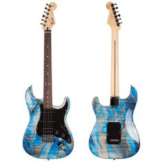 Fender Standard Swirl Strat HSS RW