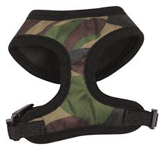 Casual Canine Camo Dog Harness Medium Green *** More info could be found at the image url.(This is an Amazon affiliate link)