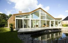 Whim Architecture designed the sublime 'Villa BH' in Burgh-Haamstede, the Netherlands