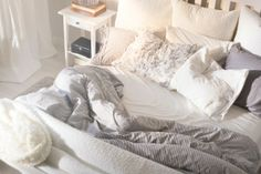 In dit bed wil je voor altijd blijven liggen. #IKEA