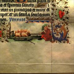 roasting __ Marginalia from Medieval Manuscripts