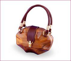 Wooden Handbag - almost edible.