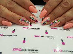 The best Peach colored nails - Peach Colored Nails, Mary Johnson, Peach Colors, Nail Colors, Manicure, Nail Designs, Nail Polish, Hair Beauty, Nail Art