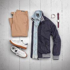 "973 Me gusta, 10 comentarios - VoTrends® Men's Fashion (@votrends) en Instagram: ""Layering with linen : @matthewgraber"""