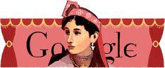 Дудли Google. Doodles Google. 160 років від дня народження Марії Заньковецької. 4 серп. 2014 р.