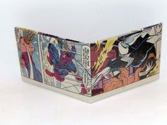 Comic Book Wallet// Hawkeye and Spider-Woman, $4.00