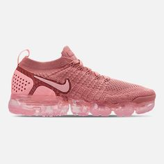 540cfa91f4f10 Right view of Womens Nike Air VaporMax Flyknit 2 Running Shoes Nike Vapor