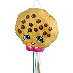 Kooky Cookie Shopkins Pinata, Pull String