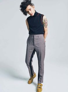 Matt Healy por Simon Lipman para The Sunday Times Style