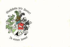 Couleurkarte des 1840 gestifteten Corps Guestphalia im KSCV an der Phillips-Universität zu Marburg #Studentika #Studentenverbindung  #Korporation Playing Cards, Fraternity, Postcards, Playing Card Games, Game Cards, Playing Card