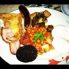 Full English breakfast from Jones Wood Foundry