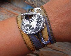 #coolsilverjewelry  Boho Jewelry Boho Trend Bracelet Bohemian Jewelry by HappyGoLicky, $49.95