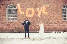 Nordiske Bryllup / Nordic Weddings - Winter wedding, Norway