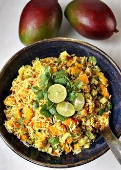 Indischer quinoa salat