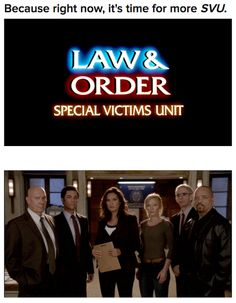 """""""Law & Order ~ Special Victims Unit"""""""