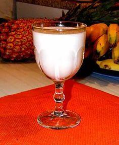 Glass of Yummy Oat Milk