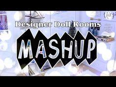 Mash Ups: Designer Doll Room Crafts Quick Crafts, Crafts To Do, Room Crafts, Kids Crafts, Diy Room Decor Tumblr, Tumblr Rooms, Unicorn Rooms, Unicorn Doll, Barbie Dolls Diy
