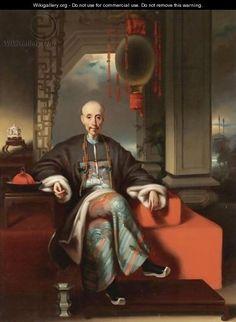 Portrait Of Hou Qua, about 1829 - 1830