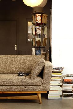 50's Spirit / vintage sofa red édition