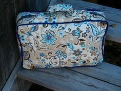 Honey Mooners Suitcase Big City Bags By Sara Lawson