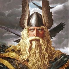 Thor and his fellow Norse Gods are surrounded by a rich, ancient mythology. Which ancient Norse Deity are you most like? Norse Mythology Tattoo, Ancient Vikings, Art Database, Gods And Goddesses, Thor, Fantasy Art, Old Things, Painting, Supreme
