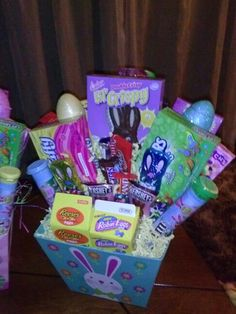 Made for my mother in law things ive made pinterest easter basket negle Choice Image