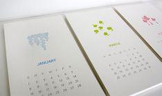 Honziukle-Letterpress-Calendar