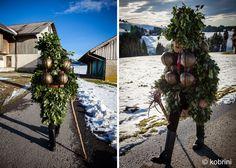 kobrini visual stories. Alter Silvester in Appenzell, Switzerland - Jan 2015.