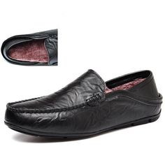 aebfb611302 Pacific Nile Moccasins Loafers Men Slip-on Shoes