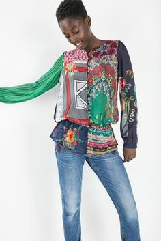 Camisas & Tops Desigual Camisa Katyana