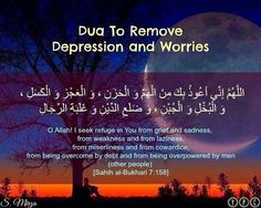 A Dua to Say When Depressed and Worried - About Islam Islamic Images, Islamic Teachings, Islamic Dua, Islamic Love Quotes, Religious Quotes, Dua Images, Muslim Quotes, Islamic Pictures, Islamic Prayer