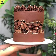 Looking for a great dessert for completing your meals at home? This is quick and simple best three chocolate cake recipes ready to serve you at home. Oreo Cake, Cake Cookies, Food Cakes, Cupcake Cakes, Bolo Glamour, Homemade Donuts, Occasion Cakes, Drip Cakes, Buttercream Cake