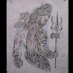 #sketchboard #sketchbyravi #sketch_daily #sketchtime #sketching #skinart #sketch #sketchfortattoo #sketch_art #drawing #drawingpencil #drawingart #pencilonpaper #pencilart #pencilsketch #pencilwork #pencil #coloredsketch #blackink #shiva #lordshiva #religious #tiger #trishul #artspotlight #artsy #artoftheday #arts_help #artinity