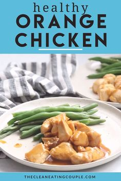 Skip the takeout & make this Healthy Orange Chicken Recipe for dinner! Paleo, gluten free + delicious - it's one of the best healthy chicken recipes! You can make it on the stove or in the instant pot. The sauce is the best part - you'd never know it's clean eating! Made with just a few simple ingredients, it's tasty and easy to make! #paleo #glutenfree #dairyfree #healthy Healthy Grilled Chicken Recipes, Healthy Orange Chicken, Chicken Recipes Video, Clean Eating Recipes, Eating Clean, Healthy Eating, Kitchen Recipes, Healthy Dinner Recipes, Instant Pot
