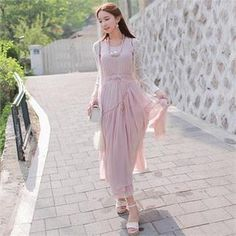 Buy 'Babi n Pumkin – Sleeveless Shirred Maxi Dress' with Free International Shipping at YesStyle.com. Browse and shop for thousands of Asian fashion items from South Korea and more!