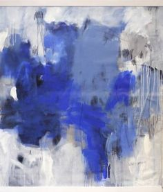 "Saatchi Art Artist Daniela Schweinsberg; Painting, ""Blue Hour 