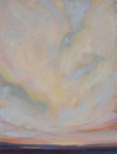 """At Peace"" - 9x12 original oil by Vicki Rawlins"
