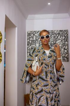Approx. model height is 5'9 and she is wearing a size SMALL Dress can also... African Imports, Amelia Dress, Maxi Wrap Dress, Black History Month, Traditional Outfits, Women Wear, Model, Sleeves, How To Wear