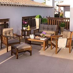 muebles-jardin-carrefour-8 | muebles | Pinterest | Muebles de jardin ...