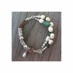 Hey, I found this really awesome Etsy listing at https://www.etsy.com/listing/175408646/freshwater-pearl-turquoise-silver