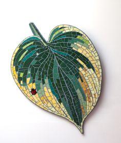 mark brody mosaics - leaf