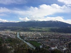 **Hungerburg Funicular (funicular ride to the top) - Innsbruck, Austria