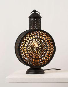 AMHI bordslampa svart