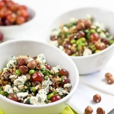 Edamame Hazelnut Buckwheat Salad Grain Free, Gluten Free, Paleo Friendly