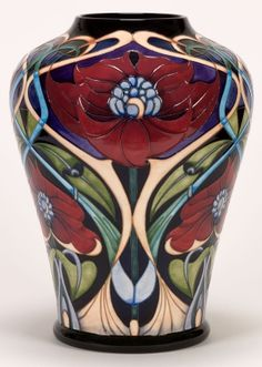 "Moorcroft Pottery  ""Tudric Dream""  Designer Rachel Bishop - OK, it's official - I love all of the Moorcroft pieces!!"
